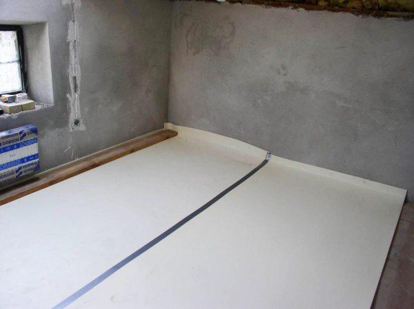 О гидроизоляции пола в подвале
