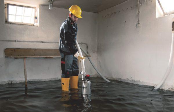 О воде в подвале
