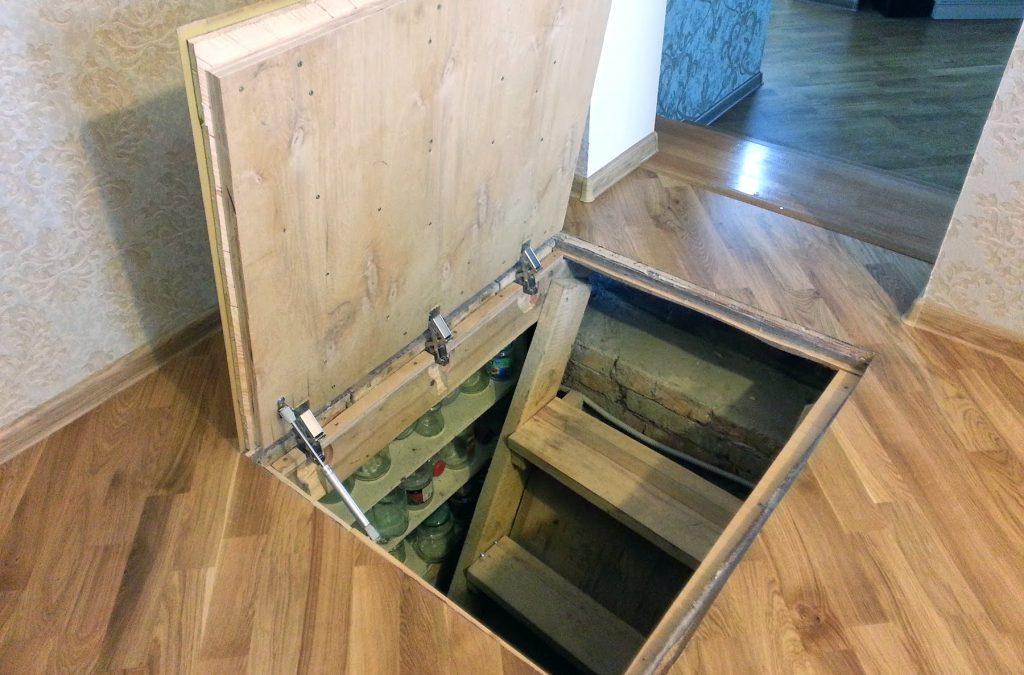 Сделать подвал в деревянном доме своими руками 78