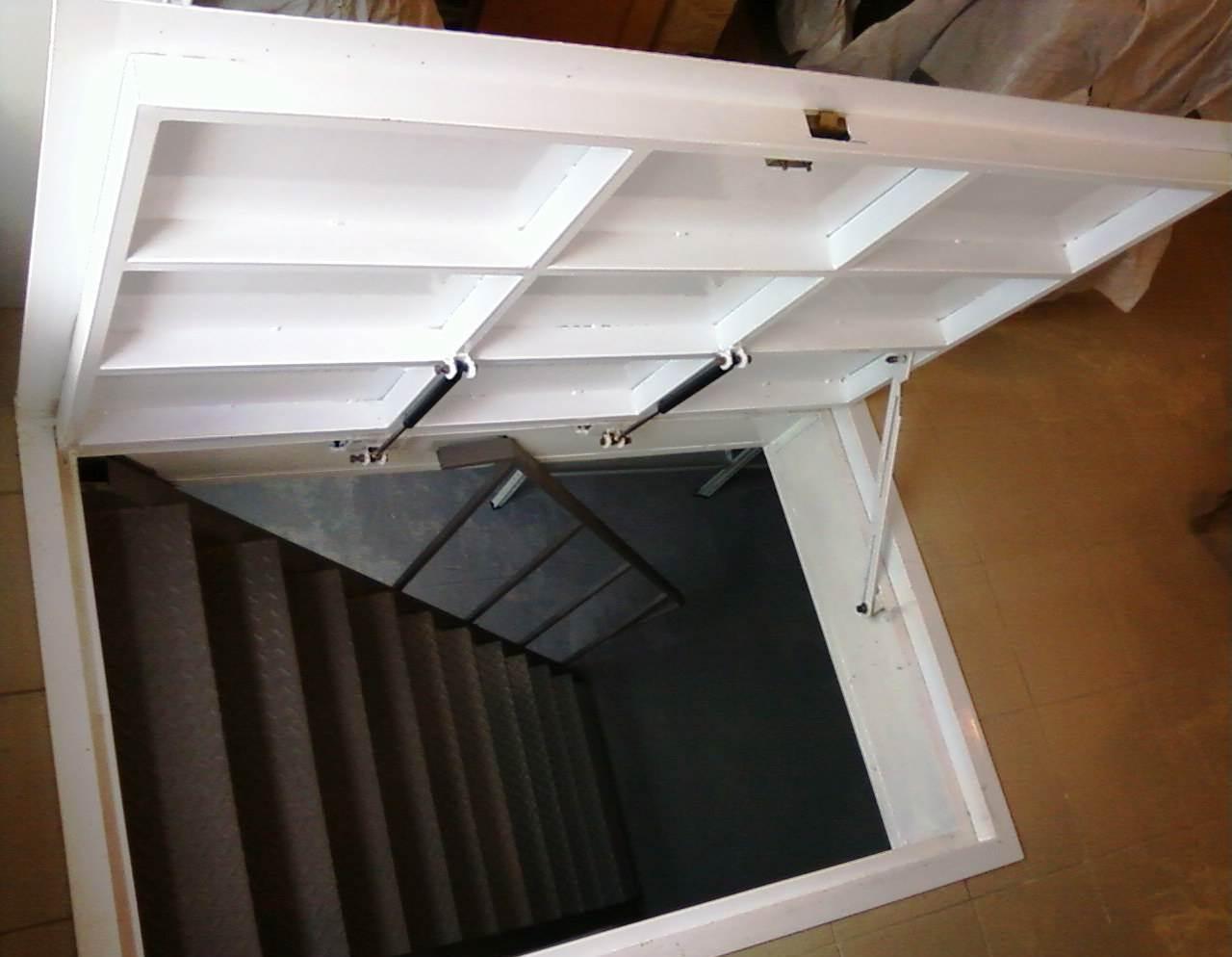 Дверь в подвал: как сделать дверь в погребе своими руками.