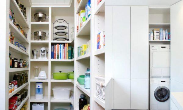 Дизайн кладовки в квартире
