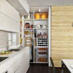 Планировка кухни с кладовкой