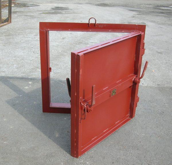 Герметические двери для бомбоубежищ