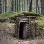 Как построить землянку с печкой?