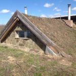 Крыша землянки