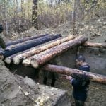 Землянка в лесу своими руками