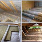 Пароизоляция для крыши для холодного чердака